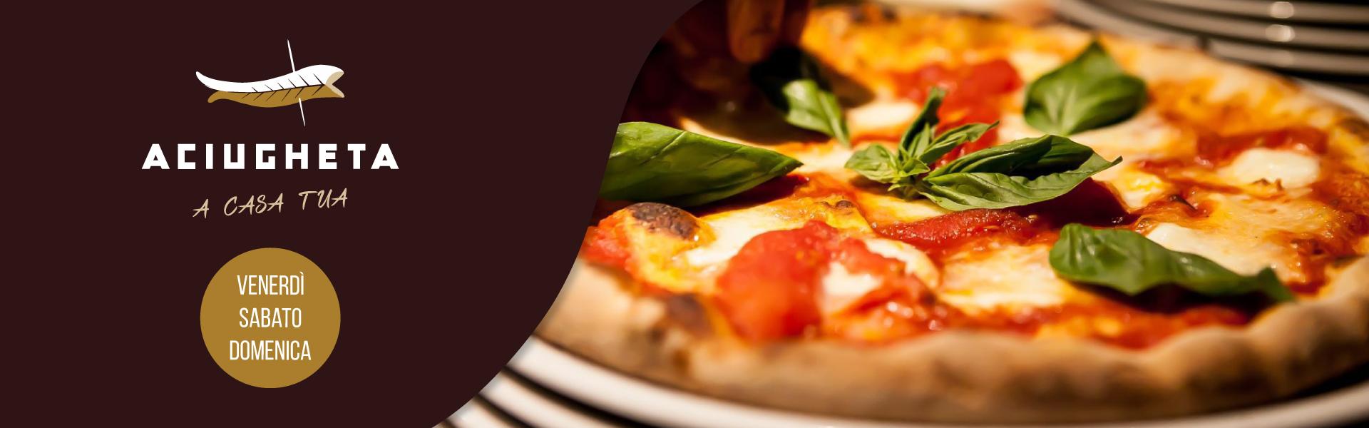 Il Ridotto Venezia - Menu Aciugheta a casa tua venerdì, sabato e domenica